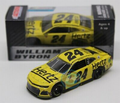 2019 WILLIAM BYRON #24 Hertz 1:64 Action Diecast In Stock Free Shipping