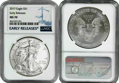 2019 American Silver Eagle - NGC MS-70 Early Release