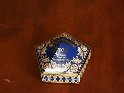 Harry Potter Chocolate Frog Box Wizarding World Universal Studios EMPTY BOX ONLY