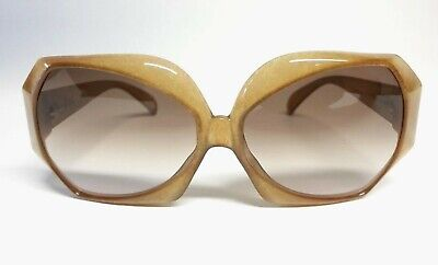 c4ba3a9c25b CHRISTIAN DIOR Brille 2025-80 Women s Sunglasses Vintage 70s Oversized  Butterfly