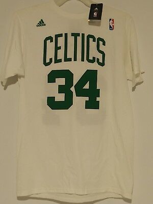 ADIDAS NBA BOSTON CELTICS Paul Pierce  34 JERSEY T-SHIRT SIZE Medium NEW w 30cacaf43
