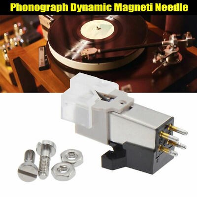 Dynamic Magnetic Needle Stylus Record Player Metal for Audio Technica AT-3600L