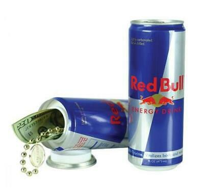 Red Bull Can Diversion Stash Safe Secret Hiding Space Drink Hiding Car Festival