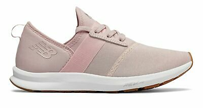 New Balance Women's Fuelcore Nergize Comfortable Training Shoes Pink With White