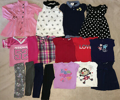 faf98b6196b2f 17 Piece Lot Baby Girl Clothing Size 18 Months Spring Summer
