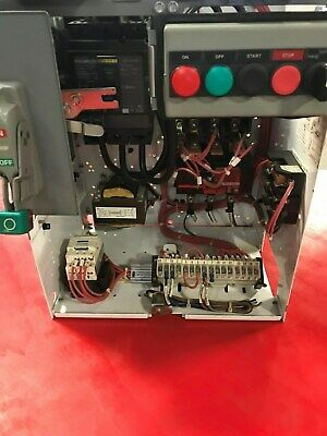 Square D Model 6 Mcc 30 Hp Size 3 Starter 100 Amp