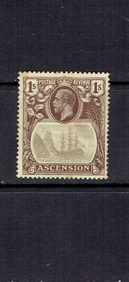 Ascension Island - 1924 - One Shilling Seal Of The Colony - Scott 19 - Mh