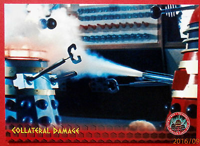 DR WHO AND THE DALEKS - Card #15 - Collateral Damage - Unstoppable Cards 2014