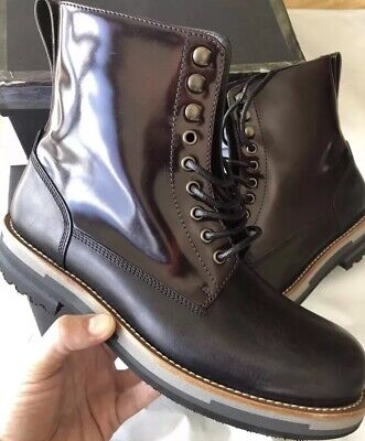Dolce & Gabbana Matisse Italian Military Combat Boots Technical Tactical Italy