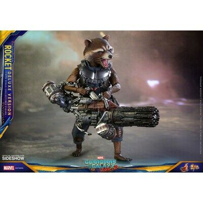 Guardians Of The Galaxy Vol.2 - Rocket Racoon Deluxe 16Cm Action Figure Hot Toys
