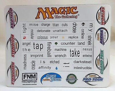 Magnet Unpunched Promo MTG World Champs Super Series Arena Grand Prix Pro Tour