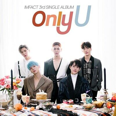 IMFACT - Only U (3rd Single) CD+Booklet+Photocard+Folded Poster+Tracking no.