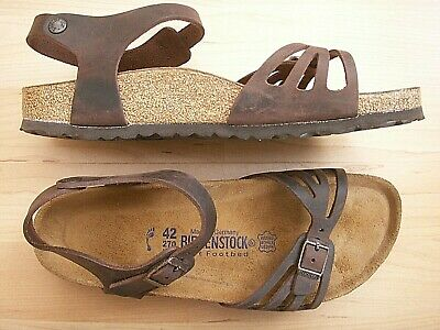 526d1cfb6f9e New Birkenstock Bali Habana Oiled Leather Ankle Strap Women Sandals 11-11.5    42