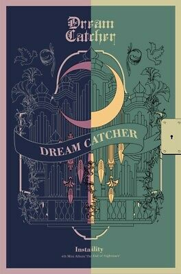 DREAMCATCHER - The End of Nightmare [Random ver.] CD+Poster+Gift+Tracking no.