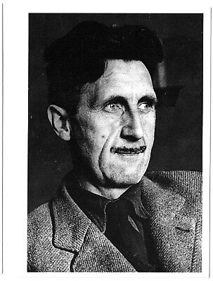 GEORGE ORWELL - Photo Postcard - Out of Print - New, old stock