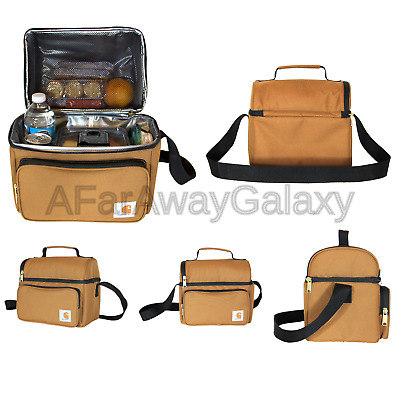 40ac914aa7f CARHARTT DELUXE DUAL Compartment Insulated Lunch Cooler Bag