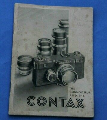 THE CONNOISEUR & THE CONTAX – The Complete Book of the Zeiss Ikon Contax 1, 1935