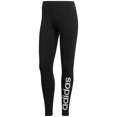 adidas Essentials Linear Tight Leggings Damen Sporthose Leggins schwarz