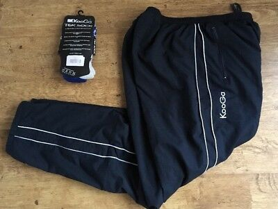 Kooga Teamwear Rugby Training//pitchside Track Pants  Adults XL 38 W  And Socks