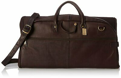 Claire Chase Leather Tri-Fold Garment Sleeve Bag