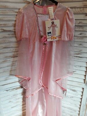 Kostum Prinzessin Fee Zauberin Magic Fasching Karneval Kinder Rosa