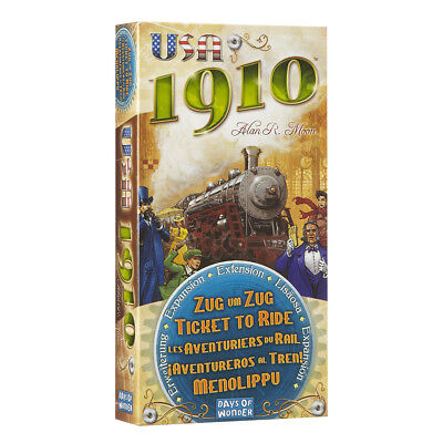 Ticket To Ride USA 1910 Expansion Board Game NEW