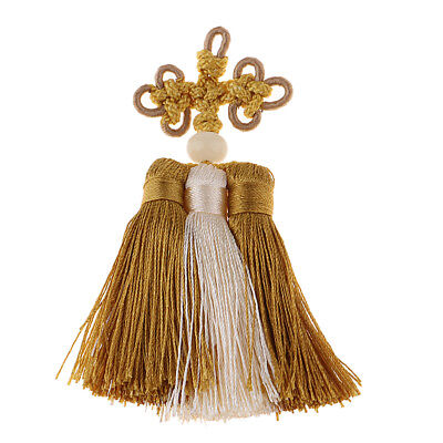 Soft Handmade Good Fortune Chinese Knot Tassels for Jewelry Earring Souvenir
