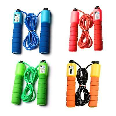 Adult Children Kids Skipping Rope With Counter Jump Fitness Exercise Sport