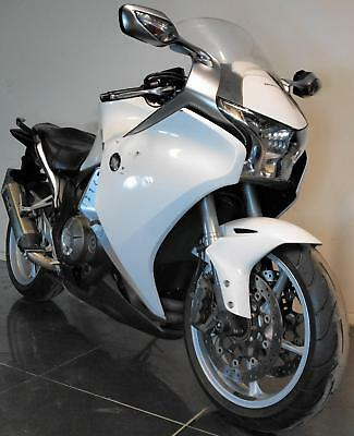 2010 10 Honda Vfr1200 F A Abs White None Runner Project Trade Sale 50K Vfr 1200F
