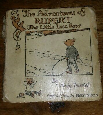 The Adventures of RUPERT The Little Lost Bear 1921 1st Edition