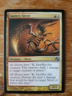 1x CAUTERY SLIVER - Rare - Planar Chaos - MTG - - Magic the Gathering