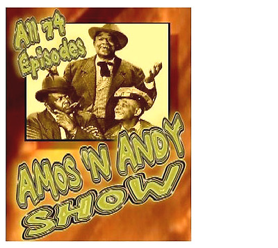 Amos & Andy All 74 Shows Complete DVD Set TV Series New Collection Sealed