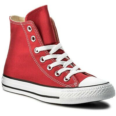 CONVERSE All star Hi Red Rosso M9621C Unisex Uomo Donna SNEAKER Junior Man Woman
