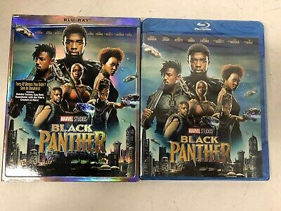 Black Panther Blu-ray 2018 New