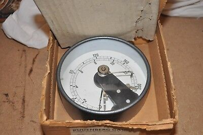 Vintage Budenberg Pressure Gauge With Electrical Contacts New Old Stock Boxed