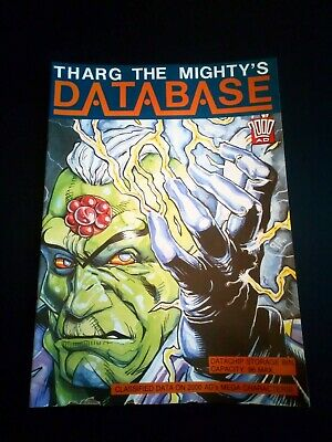 Tharg The Mighty's Database 2000AD Fleetway Sticker Album (1991) (Empty)