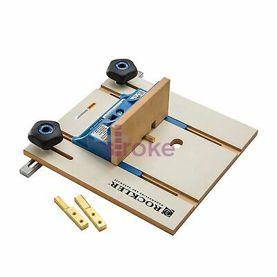 """Router Table Box Joint Jig MDF platform 6.35mm (1/4)/9.5mm (3/8)/12.7mm(1/2"""")"""