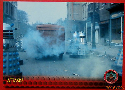 DALEKS INVASION EARTH 2150 - Card #26 - Attack! - Unstoppable Cards 2014