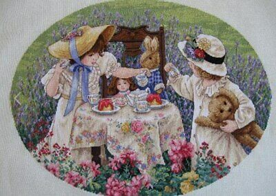 "DIMENSIONS GOLD COLLECTIONS""AFTERNOON TEA""CROSS STITCH KIT Kreuzstich STICKPACKU"