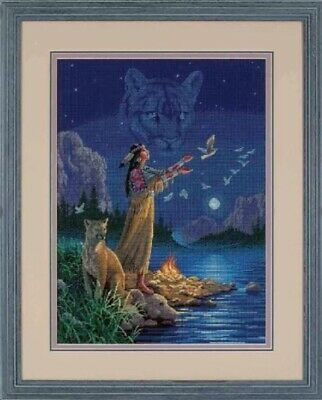 "DIMENSIONS GOLD COLLECTIONS""HIDDEN SPIRITS""CROSS STITCH KIT Kreuzstich STICKPACK"