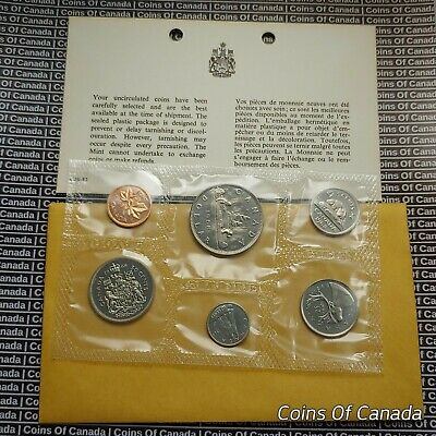 1968 Canada Prooflike 6 Coin Original Set Multiple Sets Available #coinsofcanada