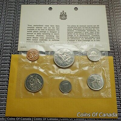 1969 Canada Prooflike 6 Coin Original Set Multiple Sets Available #coinsofcanada