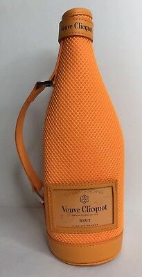 Veuve Clicquot Champagne Cozy Koozie Bottle Cover Orange Insulated Ice Jacket
