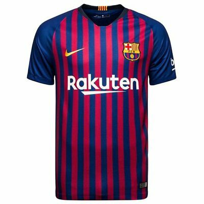 Barcelona Home Shirt 2018/19 UK Size S-XL Available