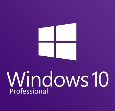 Microsoft Windows 10 Pro Installation USB flash drive 32 & 64 Bit License Key