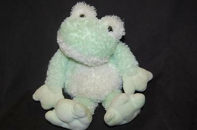 Taggies Plush Frog W Attached Lovey Blanket 13 Large Big Green