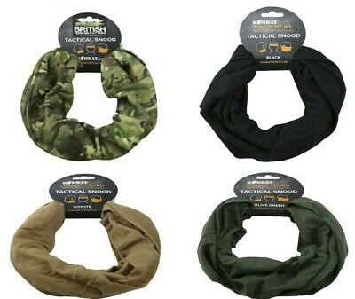 Tactical Snood -  Scarf / Balaclava / Hat / Neck Warmer - For Army / Airsoft