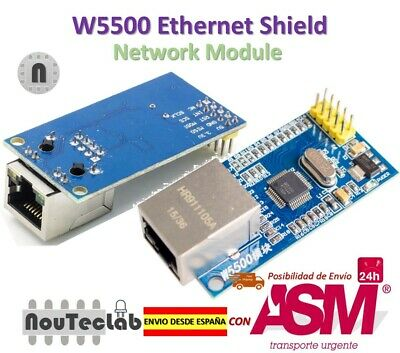 W5500 Ethernet Network Module TCP / IP 51 / STM32 MCU over W5100