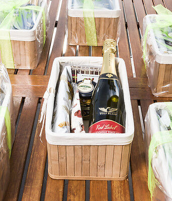 Montana Sparkling Champagne Hamper Great Gift With  Imported Gourmet Products.
