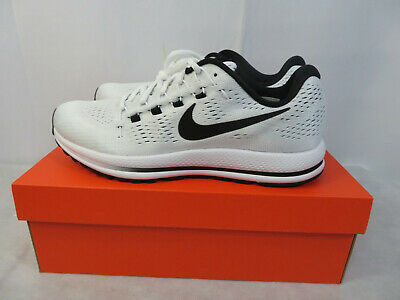 258bfb878481 Nike Air Zoom Vomero 12 Men s Running Shoes White Black 863762-100 Many  Sizes